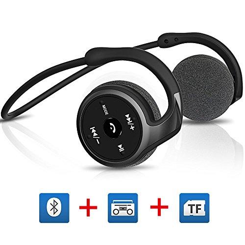 Titita Bluetooth Headset, Bluetooth 4 1 Stereo Over-Ear Sport