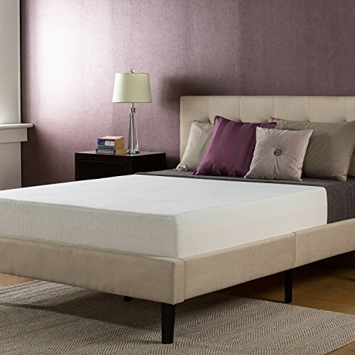 Zinus Jade Faux Leather Upholstered Platform Bed With